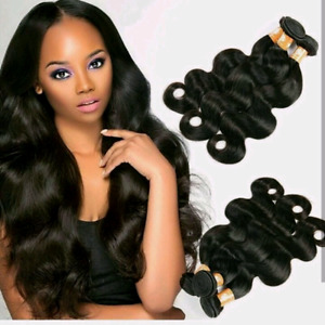 Deep wave body wave straight bundles wigs frontals 360
