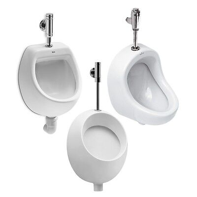 VBCbad® Urinal Zulauf v Oben Keramik Hochwertig Modern Pissoir PICO MINI PRÄSI