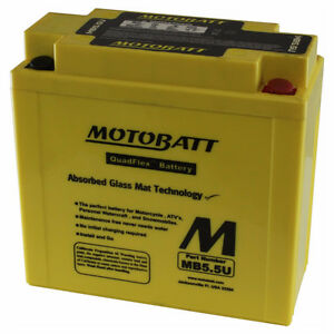 New MOTOBATT BATTERY for CAGIVA ALA Rossa Trail 350,Aletta Oro,E