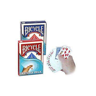 Invisible Deck Bicycle - Spielkarten Kartentricks, Magic