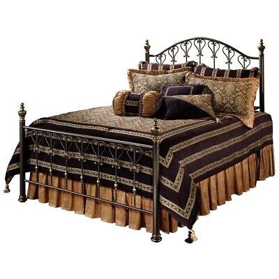 Hillsdale Huntley Queen Poster Bed in Dusty Bronze Hillsdale Bronze Poster Bed