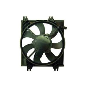 2000-2006 Hyundai Accent Hatchback Air Conditioning Condenser Fan Assembly