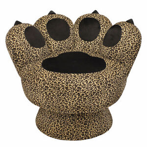 Paw Chair Leopard, New