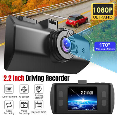 "1080P 2.2""Car DVR Dual Lens Dash Cam Rear G-sensor Rear Video Recorder Camera"