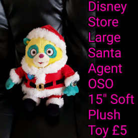Disney Store Large Santa Agent OSO