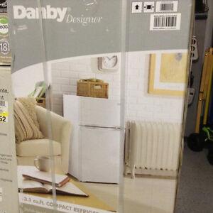 NEW - Danby Designer 3.1 cu. ft.Compact Refrigerators - (White)