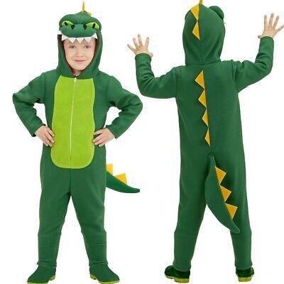 Drache Kleinkind Kostüm (DINO DRACHE Gr. 116 Kinder Kostüm T-Rex Kleinkind Tierkostüm Karneval #5191)