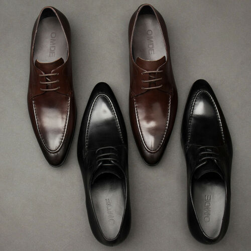 Details about  /British Mens Dress Formal Business Shoes Pointed Toe Oxfords Work Wedding Casual