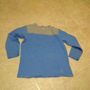 Boys Size 4/5 Long Sleeve 2 Tone T-Shirt GAP