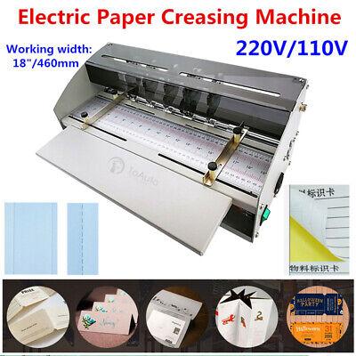 18 460mm Electric Perforator Paper Creasing Machine Scoring Creaser Ce