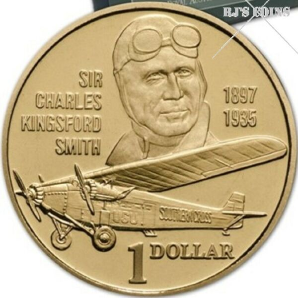 Australian 1997 Proof Six Coin Year Set from the Royal Australian Mint – Sir Charles Kingsford Smith