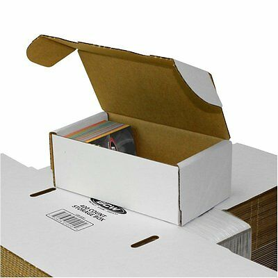Lot Of 50 Small White Cardboard Shipping Boxes - 7 X 3 34 X 2 34