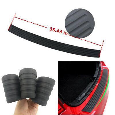 Parts Rubber Sheet Car Rear Guard Bumper 4D Stickers Panel Protector Accessories