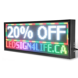 Black Friday Sale!!! Scrolling LED Sign Programmable Moving
