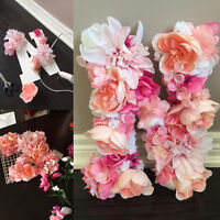 Custom Floral Letter - Great for Wedding and Shower Decor!
