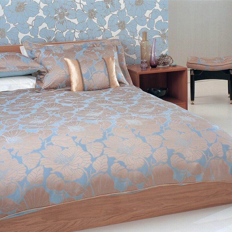 Brand New Stunning Bedeck Luxury Jacquard Bedroom Duvet Set Inc Curtains Throw