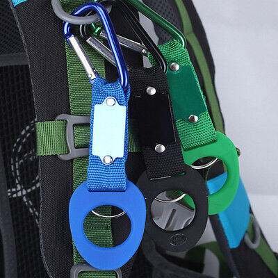 3x Hiking Camping Carabiners Water Bottle Holder Rope Buckle Hook Travel Kits n