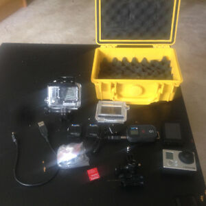 GoPro Hero 3 Black Edition plus accessories