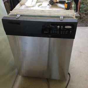 Stainless Steel Whirlpool dishwasher