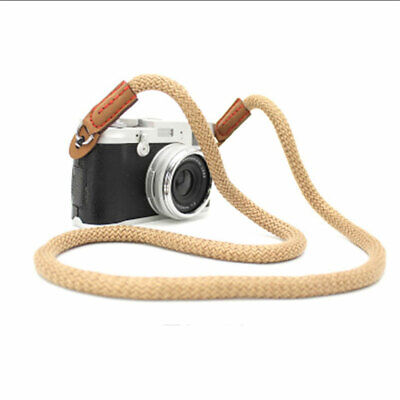 Simple Handmade Rope Cord Shoulder Camera Strap Climbing Best Neck  Strap