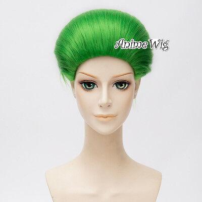 Anime Short Green Halloween Men Cosplay Hair Wig - Short Hair Halloween