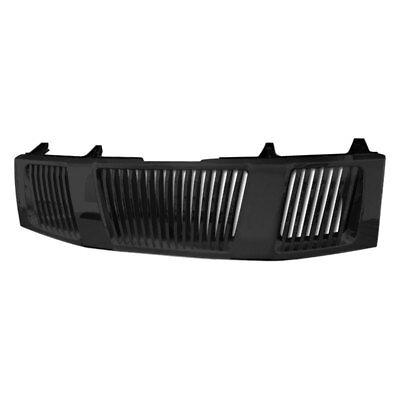 For Nissan Titan 04-15 Armordillo 1-Pc Gloss Black Vertical Billet Main Grille