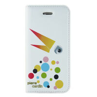 iPhone 5s Beautiful White Pierre Cardin Leather Case