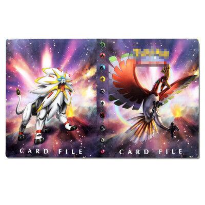 240 Pockets Pokemon Card Holder Collector Sheets Album Book Cards Binder