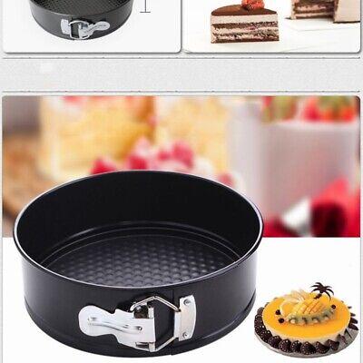 Non-Stick Baking Springform Round Cake Tin Tray Pan 7/8/9 Inch Spring Loaded USA (9 Round Cake Tin)