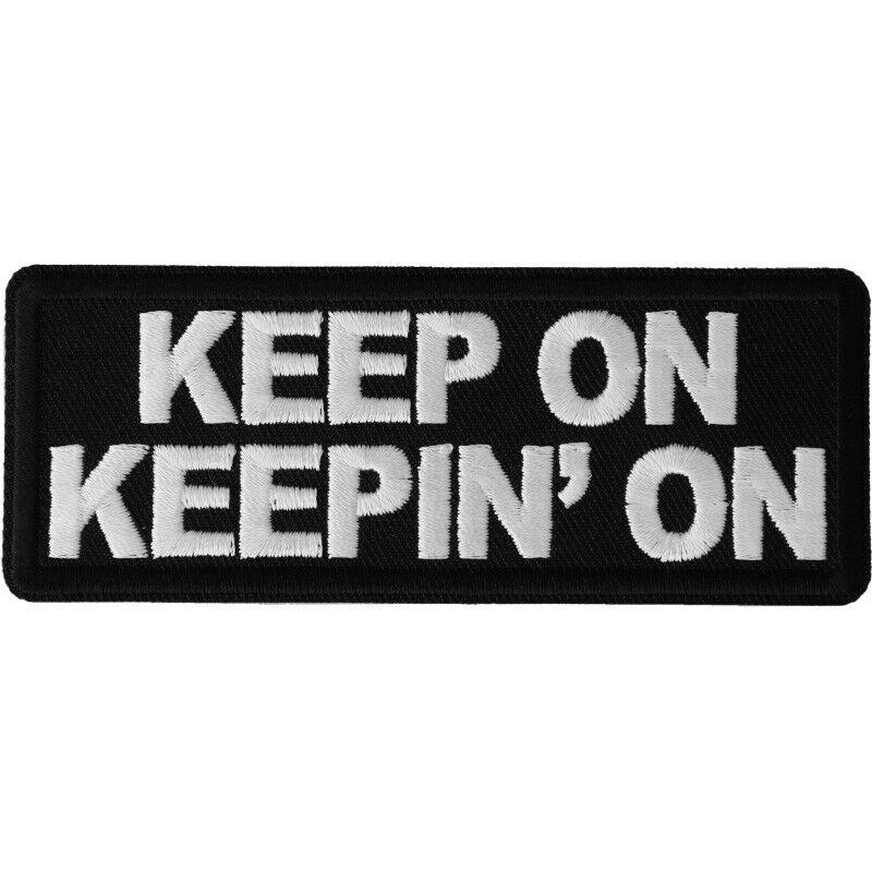 KEEP ON KEEPIN