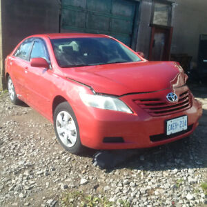2007 toyota camry LE, accident clean title