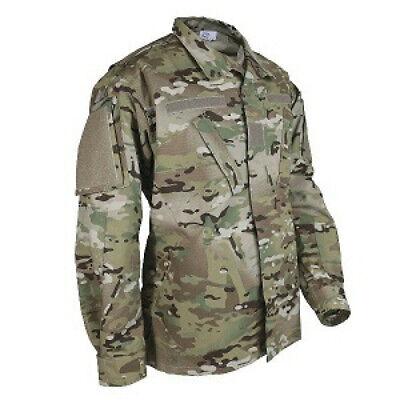 Us Army Air Force Uniform (US Army - Air Force OCP Uniform Coat Top Multicam Small Long USGI)