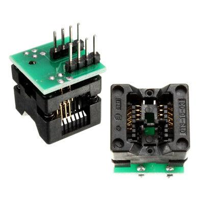 Soic8 Sop8 To Dip8 Programmer Adapter Socket Converter 150mil Gold-plating Pin