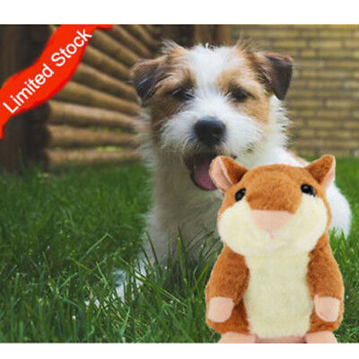 Milo Activation Hamster - Cute Talking Plush Hamster Cat Dog Chew Electric Toys