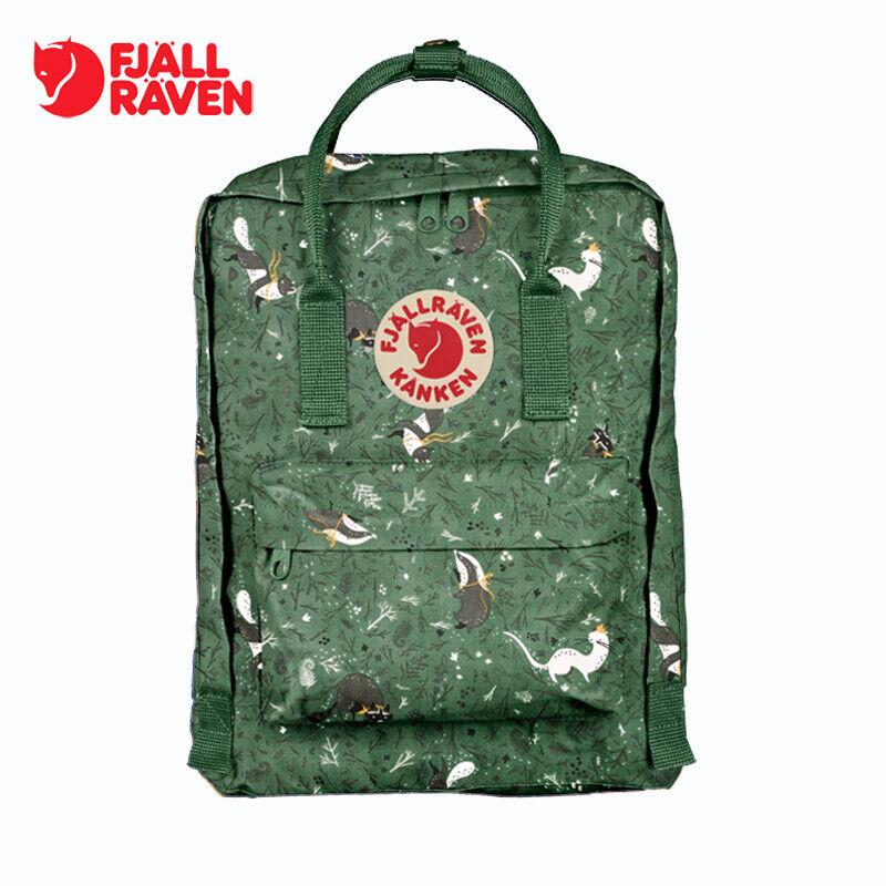 Fjallraven Kan ken 16L Forest Green Backpack Fox School Wate