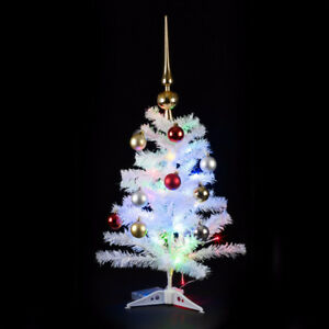 Brand new 2ft white and green Artificial Christmas trees $10 eac