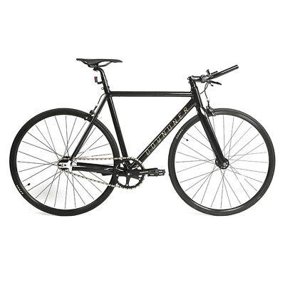 163aefbfefe 700C Fixed Gear Bike Single Speed Urban Fixie Bike Road Bike 500cm Frame US