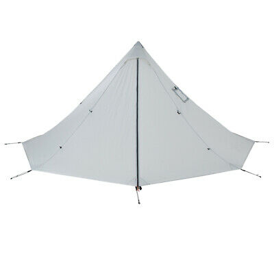 2 Person Ultralight Chimney Teepee Tent Waterproof Shelter f