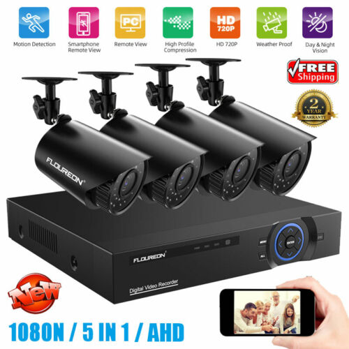 5in1 Security Cloud DVR 4CH 1080p HDMI H.264 Recorder CCTV C