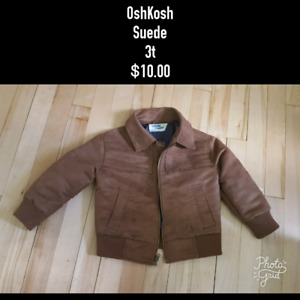 Suede Fall Jacket