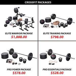 Kettlebell Plate Set Crossfit Package Olympic Barbell Weight