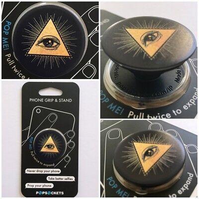 Used, PopSockets Single Phone Grip PopSocket Universal Phone Holder 101345 illuminati for sale  Miami