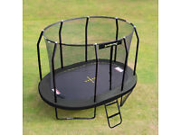 Jumpking 8ft x 11.5ft Oval JumpPod Trampoline 2016 Model : BRAND NEW still boxed (wrong size)