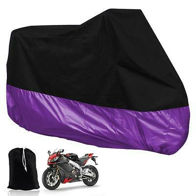 L Large Motorcycle Motor Bike Scooter Waterproof UV Dust Protector Rain Cover