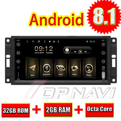 Android 8.1 Octa Seed For JEEP Universal 2 DIN Car GPS Stereo Central Multimedia