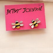 Betsey Johnson Bee Earrings