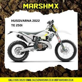 Husqvarna TE250i 2022 Model Uk Bike - Nil Deposit Finance Available