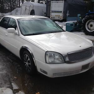 2002 Cadillac DeVille & DTS Chrome Berline