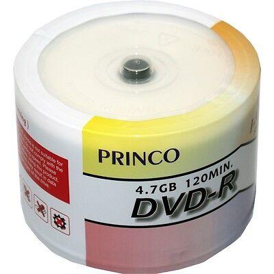 300 8x Princo White Top Blank Dvd-r Dvdr Media Disc 4.7gb