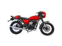 HERALD CAFE RACER 250 CUSTOM - CLASSIC CAFE MOTORCYCLE 250CC